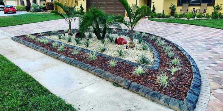 Decorative Landscape Curbing — Tampa, Hernando, Citrus, Pasco, Sumter, Lake