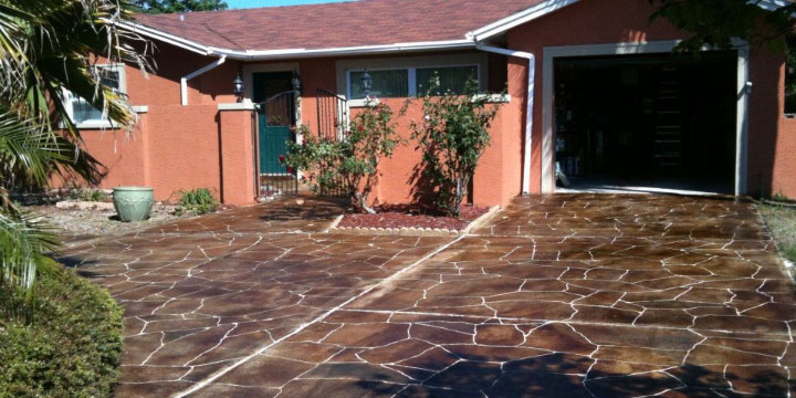 Decorative Concrete Resurfacing — Tampa, Hernando, Citrus, Pasco, Sumter, Lake