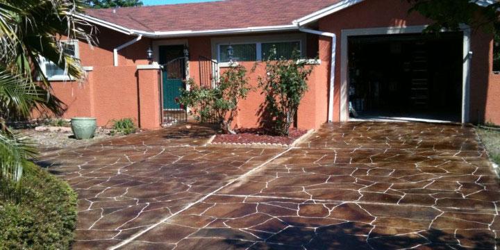 Decorative Concrete Resurfacing — Tampa, Hernando, Citrus, Pasco, Sumter, Lake