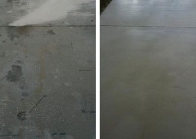 Concrete Refinishing Before & After Pasco